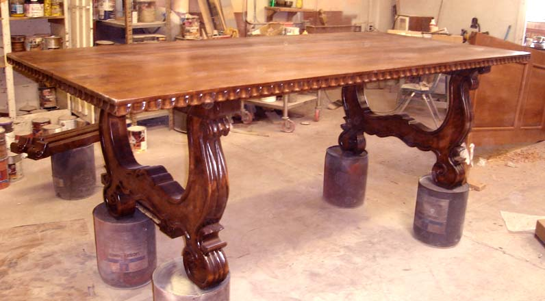 Spanish Colonial Dining Tables