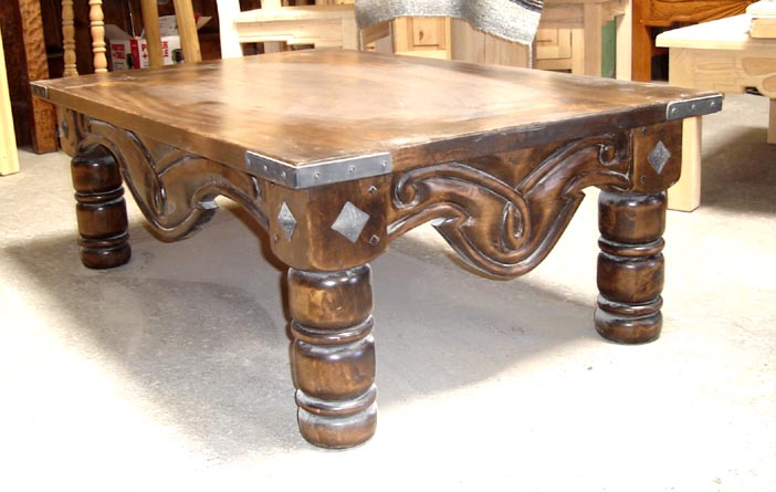 Spanish Colonial Coffee Tables Southwestern Coffee Tables All Custom Built For You