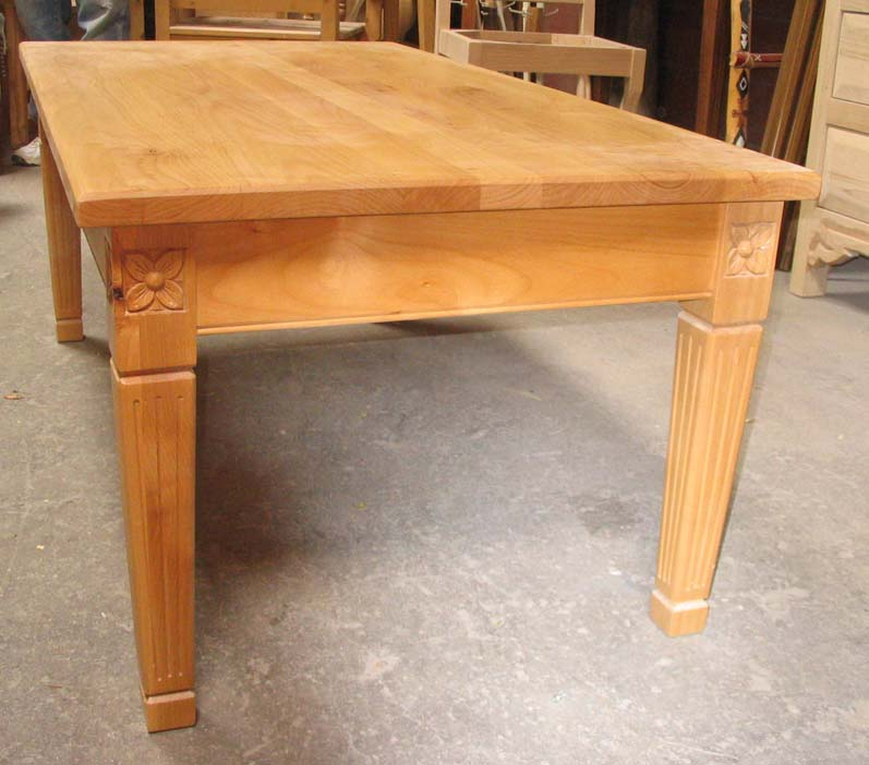 Dining Table Solid Alder Dining Table