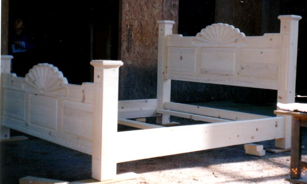 Spanish Colonial Beds