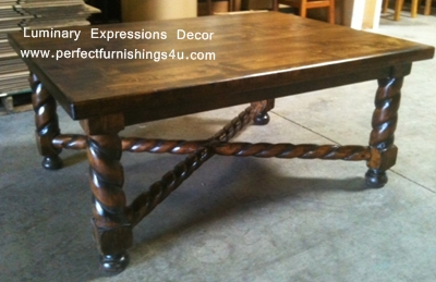 spanish colonial coffee tables, southwestern coffee tables all