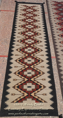 Navajo Style Quality Hand Woven Wool Area Rugs Durable And