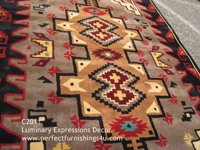 Quality Hand Woven Wool Navajo Style Rugs Tufted