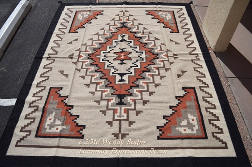 More Two Grey Hills Pattern Rugs